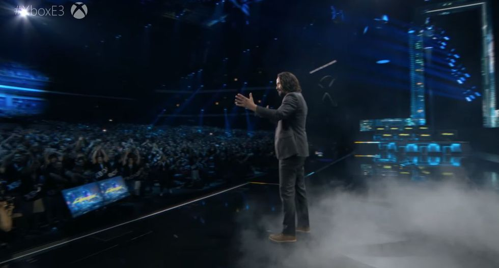 E3 2019: Keanu Reeves se robó el show de Microsoft. (YouTube)