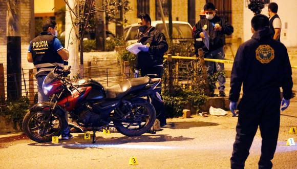 El asesinato se produjo en la urbanización El Rosario en el distrito de San Martín de Porres. (Foto: Cesar Grados/@photo.gec)