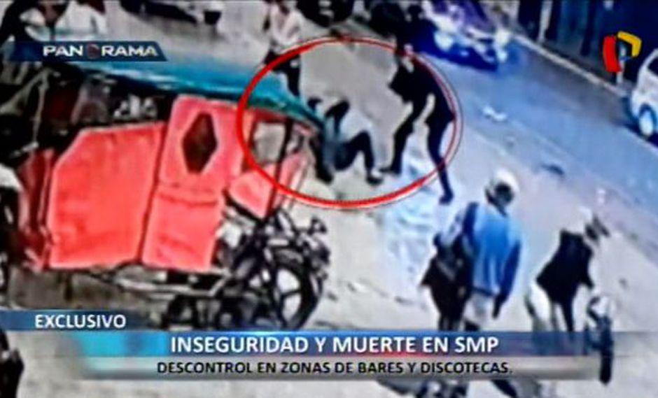 En la avenida Tomás Valle se originó la pelea que terminó con el asesinato de Allan Neyra Tello. (Foto: Panorama)