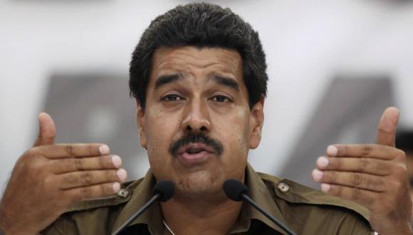 SE DESINFLA. Nicolás Maduro parece no tener ni el carisma ni el discurso de Hugo Chávez. (AP)