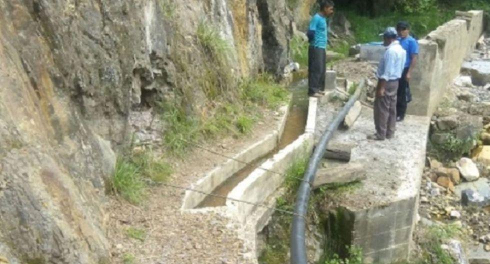 Se preparara un expediente para la reconstrucción de la infraestructura de riego en la zona. (Foto: Andina)
