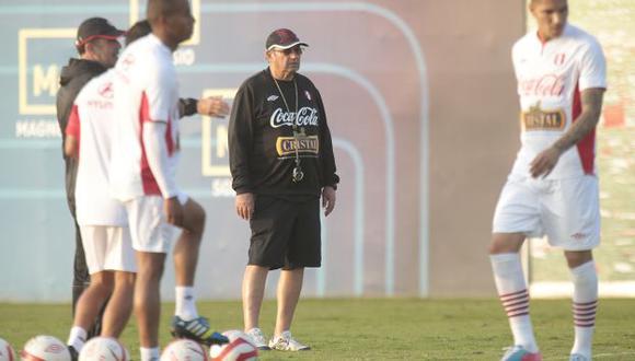 MANTIENE LA FE. El técnico espera que la hinchada esté con el equipo en todo momento. (César Fajardo)