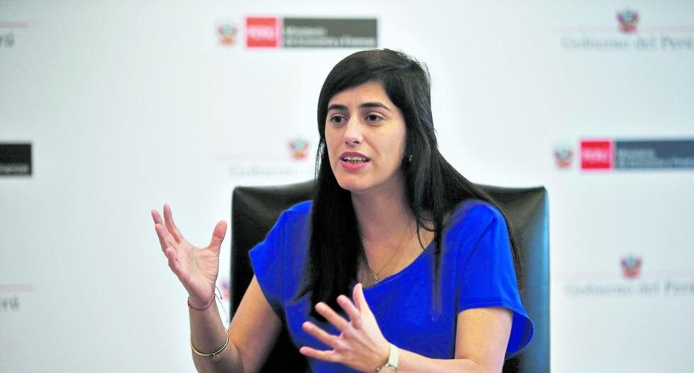 María Antonieta Alva, ministra de Economía. (Foto: GEC)