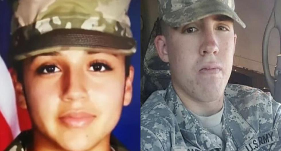 Vanessa Guillén y Gregory Morales pertenecían a la misma base militar de Fort Hood. (Captura video/Facebook).