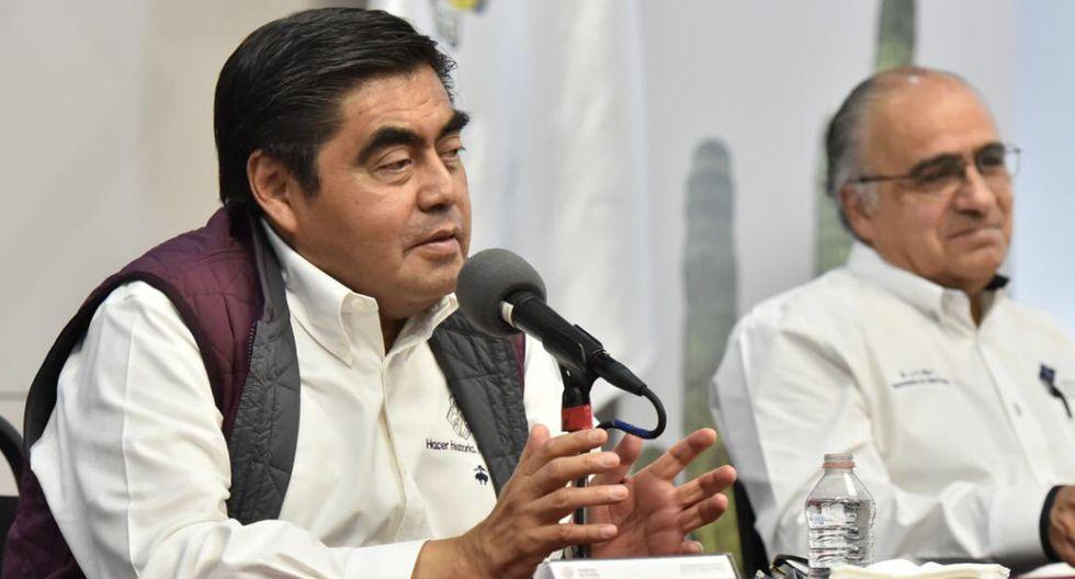 Gobernador del estado mexicano de Puebla, Miguel Barbosa, dijo que los pobres son inmunes al coronavirus. (Foto: Twitter Gobernación de Puebla)