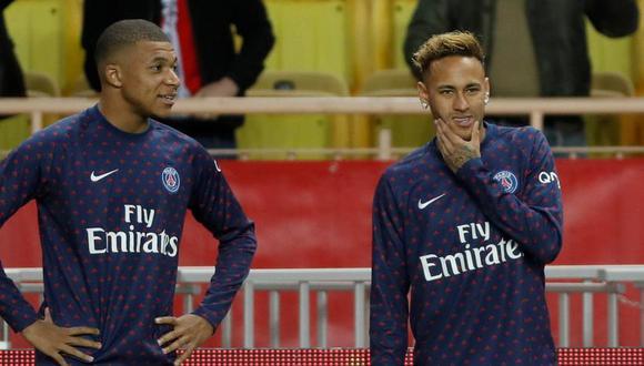 Neymar y Kylian Mbappé estarán en evaluación para conocer si llegan al choque frente a Toulouse (Foto: Reuters).