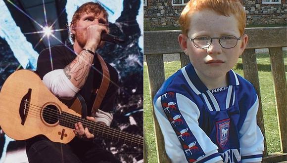 Ed Sheeran patrocinará la camiseta del equipo de fútbol de su infancia. (Foto: @teddysphotos)