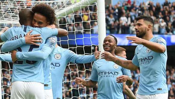 Manchester City se mide a Cardiff por Premier League (Foto AFP).