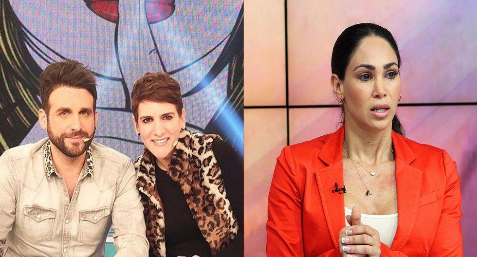Rodrigo González 'Peluchín' y Gigi Mitre se disculpan con Melissa Loza por juicio. (Foto: GEC)