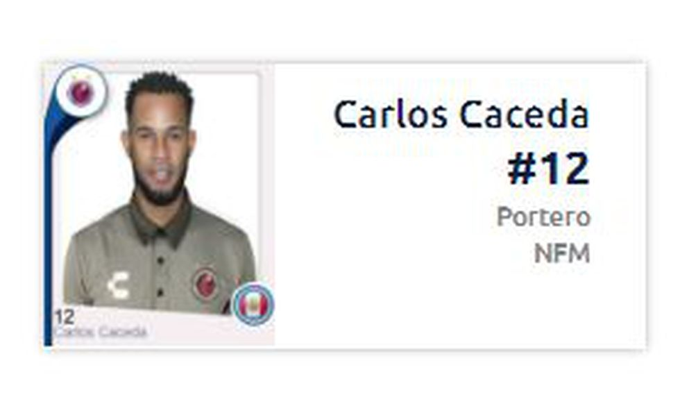 Carlos Cáceda ya podría jugar en la Liga MX o Copa MX. (Captura: Liga Bancomer)