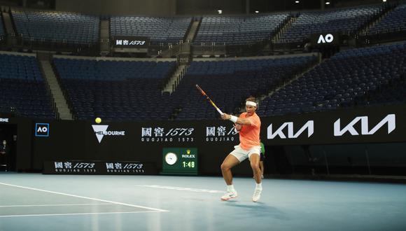Rafael Nadal derrotó 7-5, 6-2 y 7-5 a Cameron Norrie y clasificó a octavos del Australian Open   Foto: REUTERS