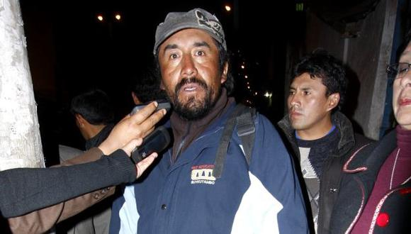 Huamán es procesado por su participación en las manifestaciones de Espinar. (USI)