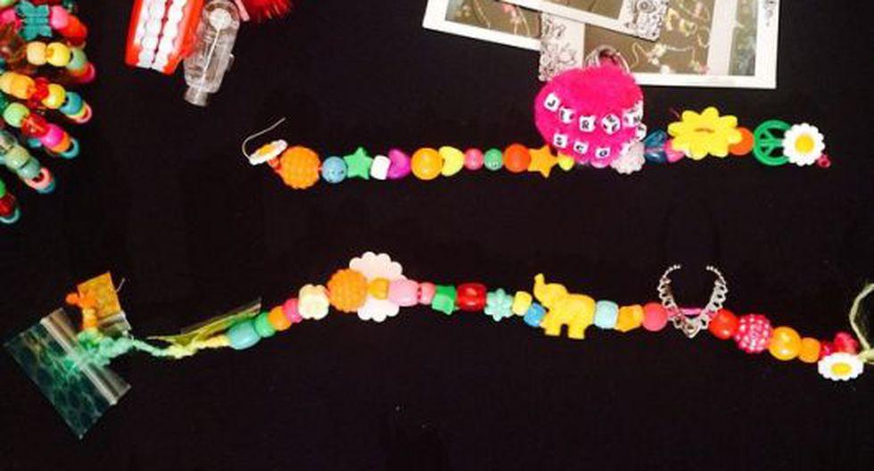 Algunos de los accesorios creados por Miley Cyrus. (mileycyrus en Instagram)