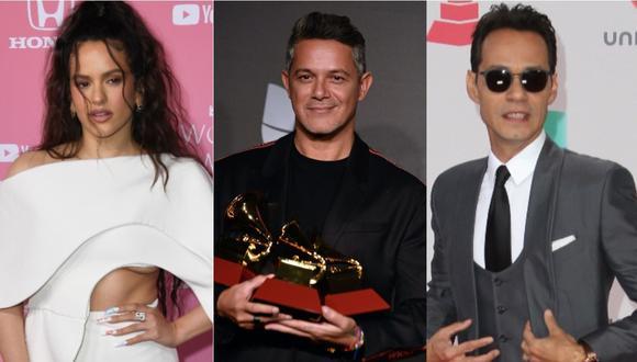 Grammy 2020: Rosalía, Alejandro Sanz y Marc Anthony, entre los ganadores latinos en Grammy. (Foto: AFP)
