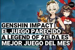 Genshi impact, el Juego de la empresa miHoYo es nombrado como mejor juego del mes de Ps4
