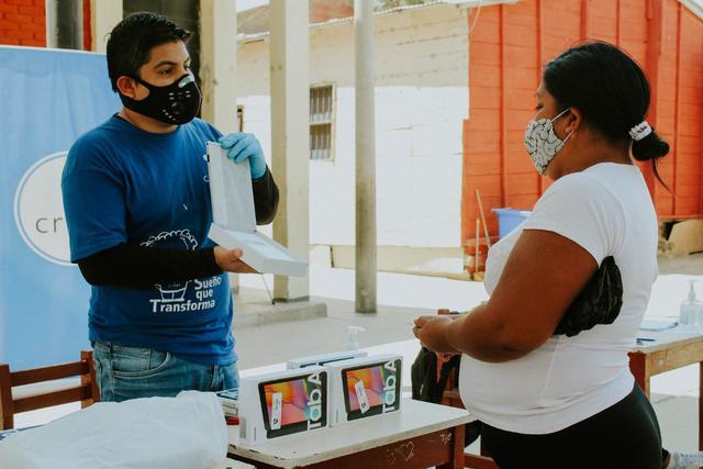 Piura: Campaña busca recolectar 3 mil tablets para escolares y 285 ya fueron entregadas en Talara