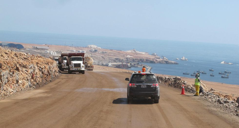 La ampliación de la carretera Camaná (Arequipa) - Dv. Quilca - Matarani -Ilo - Tacna se encuentra a cargo de Obrainsa. (Foto: GEC)