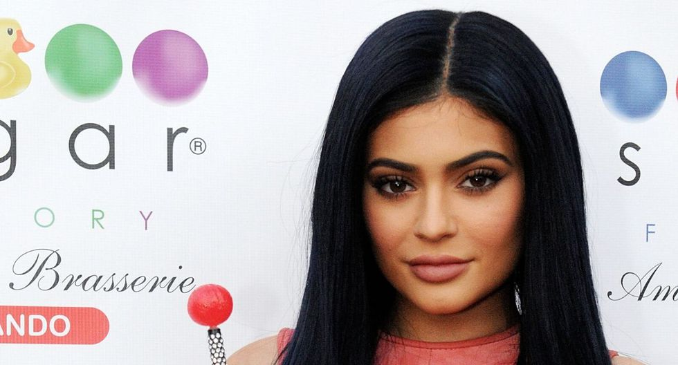 Kylie Jenner cautivó a miles de personas con sus fotos. (AFP)