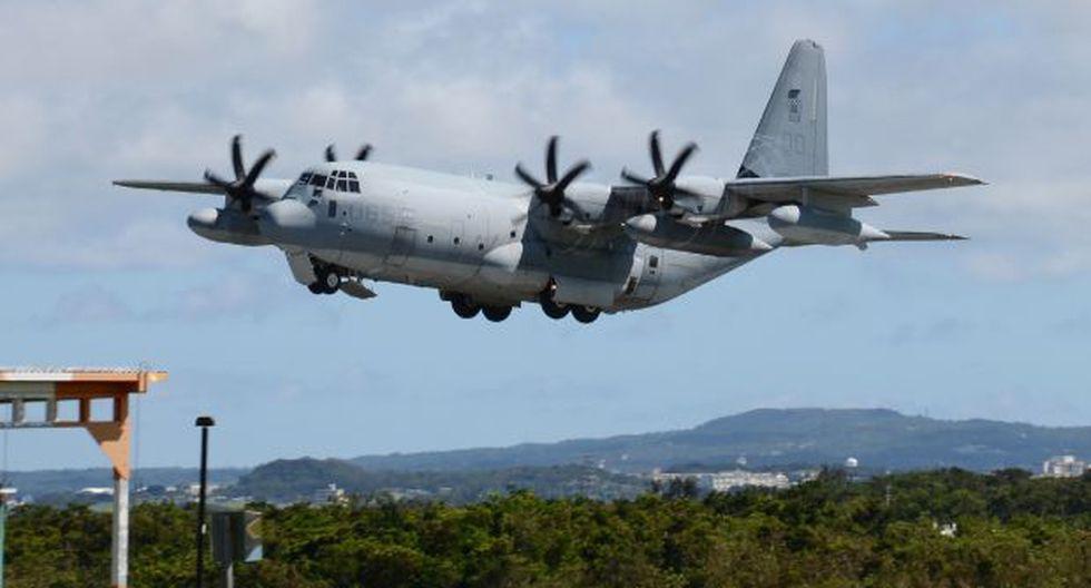 Los aviones involucrados fueron un caza F-18, con dos miembros a bordo, y un avión petrolero KC-130, con cinco ocupantes. (Foto: AFP)