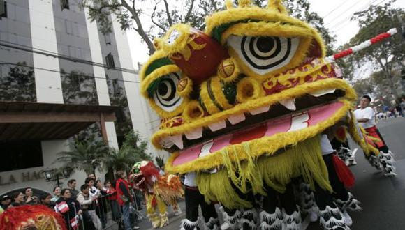 Se apreciarán coloridos carros alegóricos, dragones chinos, entre otros. (USI/Referencial)