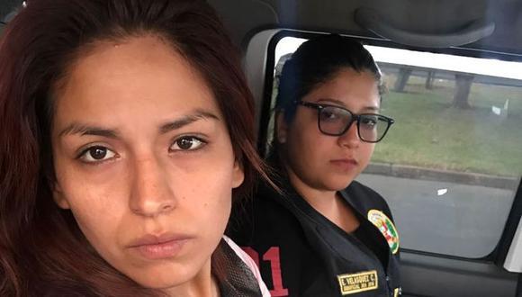 Mujer pertenecería a la banda Los Despiadados, que opera en Lima y Trujillo bajo la modalidad de 'marcas'.