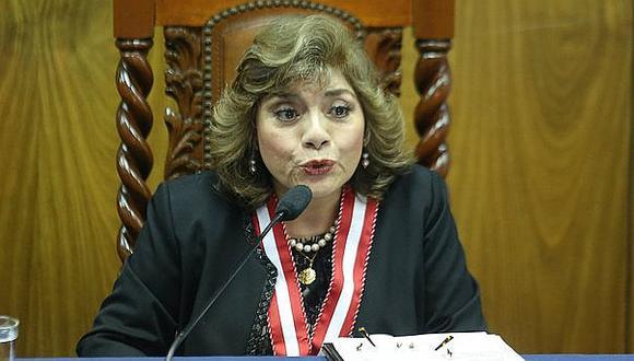Zoraida Ávalos saludó la elección de Elvia Barrios como presidenta del Poder Judicial. (Foto: GEC)