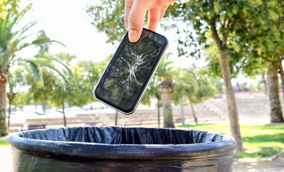 Los celulares son los artefactos más desechados por el humano. (Foto: GEC)
