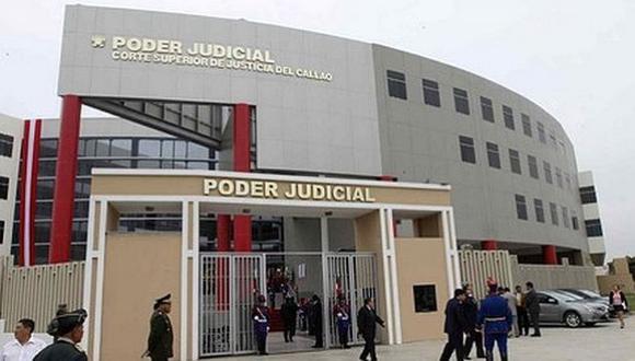 El Poder Judicial del Callao fue declarado en emergencia en julio del año pasado a raíz de este caso. (Foto: GEC)