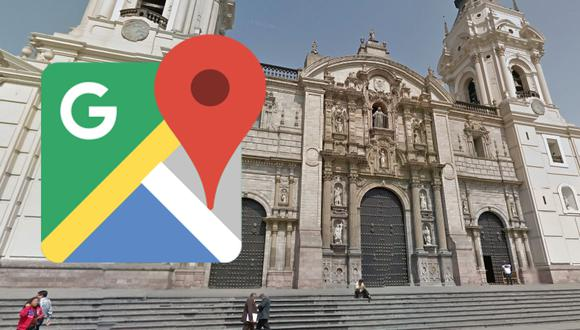 ¿Quieres concoer el interior de la Catedral de Lima con solo usar Google Maps? Estos son los pasos que debes seguir. (Foto: Google)