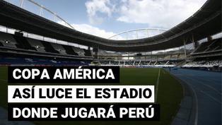 Perú vs. Brasil: así luce el estadio Nilton Santos a un día del debut por Copa América