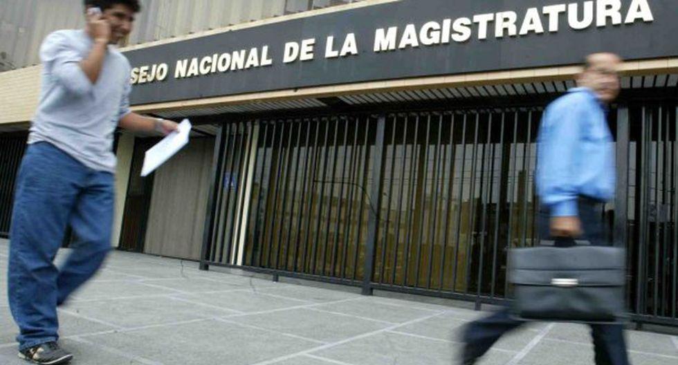 """Las grabaciones pondrían al descubierto beneficios para """"limpiar"""" ante el Consejo Nacional de la Magistratura. (Foto: Andina)"""