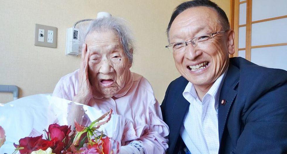 Iso Nakamura, 113 años, Japón (Invision Free)
