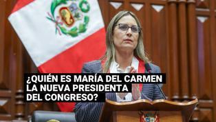 ¿Quién es María del Carmen Alva Prieto, la nueva presidenta del Congreso de la República?