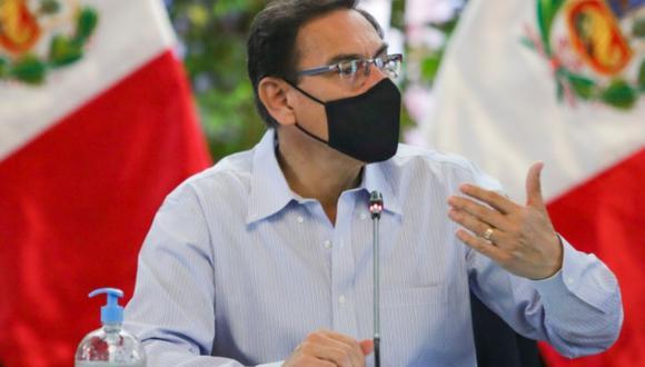 El presidente señaló que espera que las fuerzas democráticas no permitan una conspiración en su contra. (Foto: Presidencia)