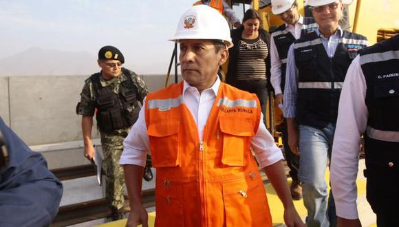 ¿A DÓNDE VA? Humala se reunió con presidente ejecutivo de Repsol, pero de manera reservada. (David Vexelman)
