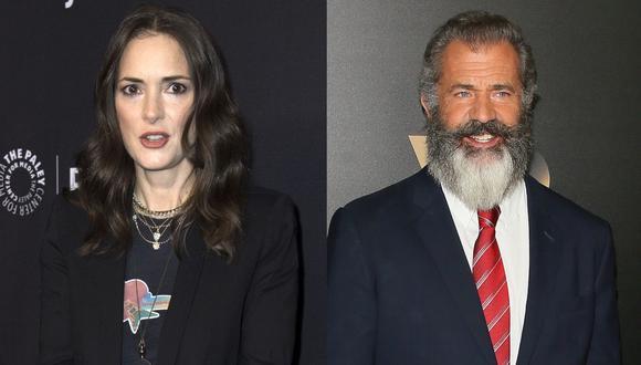 Winona Ryder reveló que Mel Gibson la atacó por su ascendencia judía. (Foto: AFP)