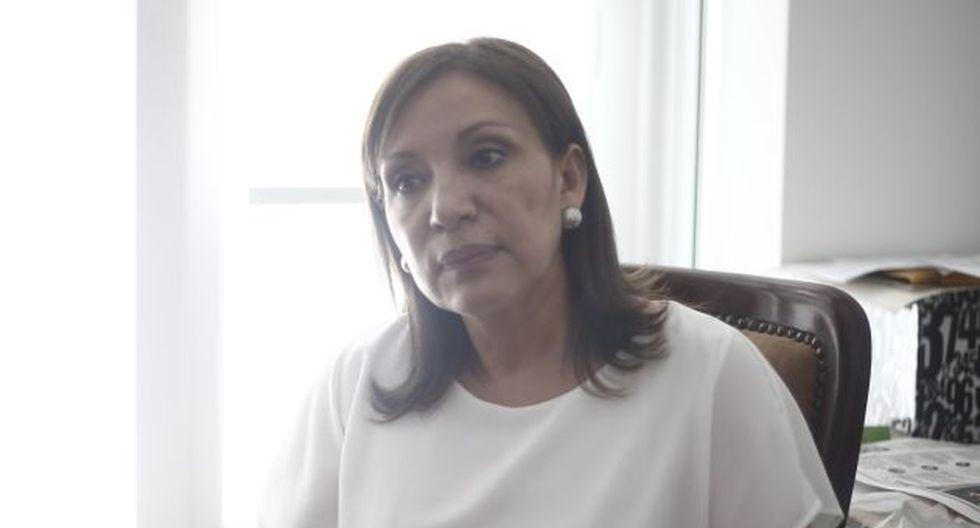 Julia Príncipe no tiene ninguna cuenta en redes sociales, afirma el Ministerio de Justicia. (Renzo Salazar/Perú21)