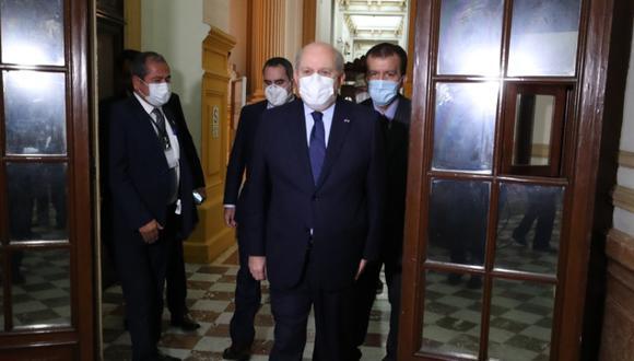 Pedro Cateriano indicó que respetará la decisión del Jurado Nacional de Elecciones sobre Todos por el Perú. (Foto: PCM)