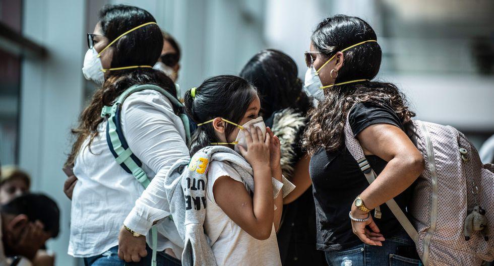 Tres ciudadanos chinos bajo observación en San Isidro. (Foto referencial AFP)