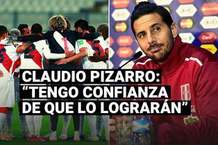 Claudio Pizarro se refirió a las chances de la selección peruana rumbo a Qatar 2022