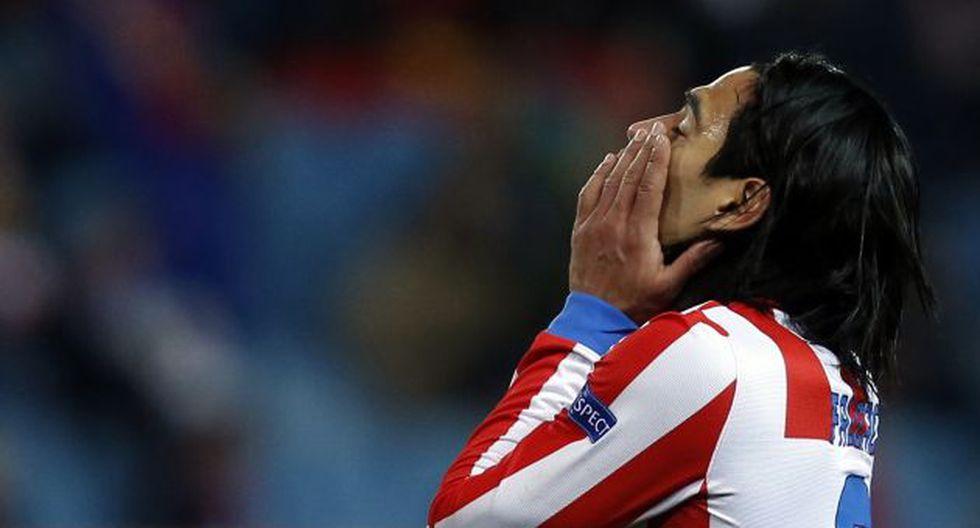 Falcao terminó muy triste. (Reuters)
