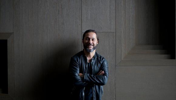 """""""Me gusta fusionar en la música, cocinar a la manera de uno"""", declara Diego Torres (Renzo Salazar/Perú21)."""