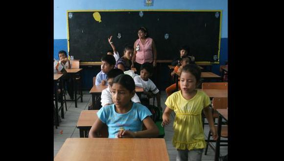 Alumnos volvieron a las aulas. (David Vexelman)