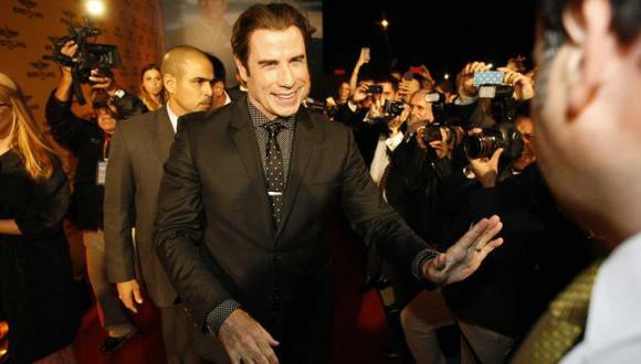 DE GALA. El actor se mostró amable en todo momento. (Luis Gonzales)