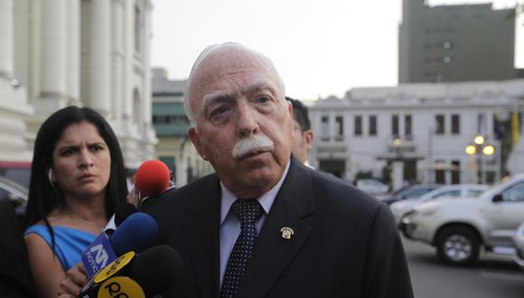 """El congresista de Fuerza Popular Carlos Tubino indicó que si el fallo requiere un """"análisis y consideración"""" de parte del Congreso, se deberá hacer. (Foto: USI)"""