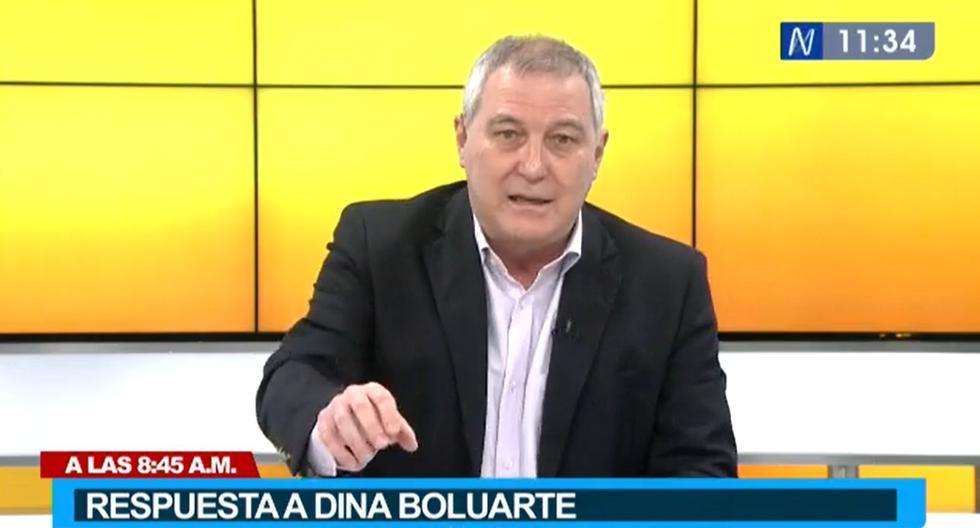Mario Ghibellini a Dina Boluarte: