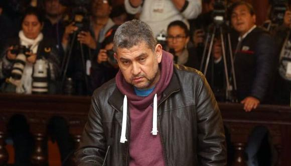 El expresidente de la Corte del Callao, Walter Ríos, cumple prisión preventiva en el penal de Ancón I. (GEC)