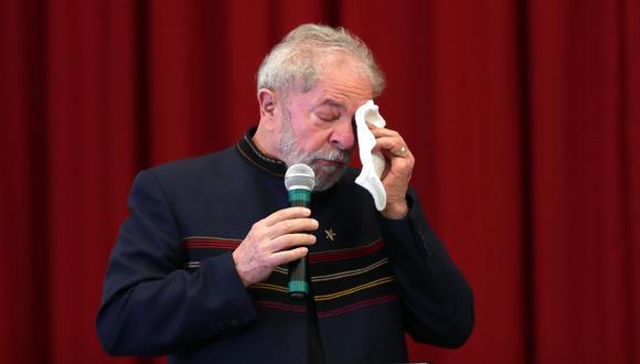 """Soy ciudadano brasileño y tengo orgullo de ser brasileño"""", expresó Lula. (EFE)"""