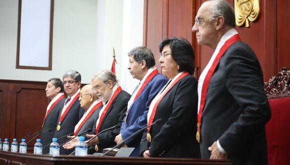 Seis de los siete magistrados tienen mandato vencido desde junio del 2019 (TC).