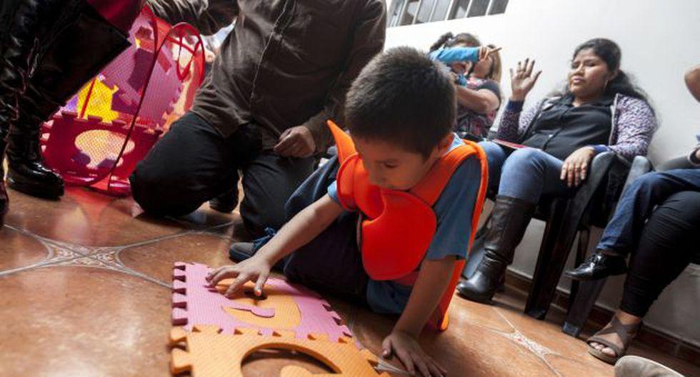 Estudios demuestran que los niños con autismo pueden mejorar su socialización a través del juego. (Anthony Niño de Guzmán)